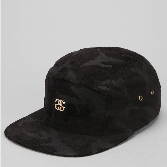 e0007d950fe suede camo stussy 5 panel cap. M 5b6f939310fc541a2e20a651. Other  Accessories you may like. Stussy Hat